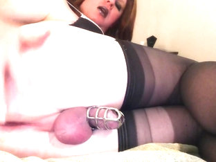 Carli is a Squirting Sissy Part 1 of 2