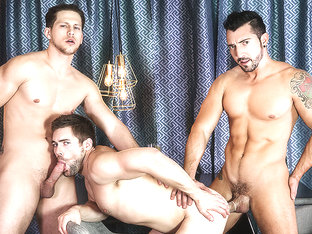 Griffin Barrows & Jimmy Durano & Roman Todd in Heartbreakers Part 1 - DrillMyHole