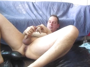 Poppers mask  edging prostate milking and cum