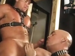BDSM fucking in sauna