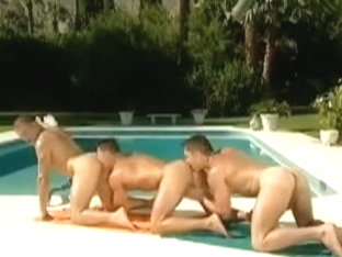 3 at the pool