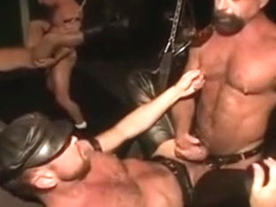 Raw cock deeply inside stud's asshole
