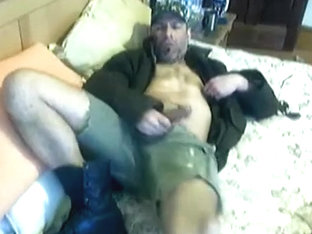 army boots and a knob