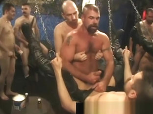 Free very extreme gay fisting gangbang part3