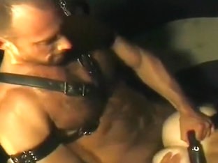Gay leather sex in jail