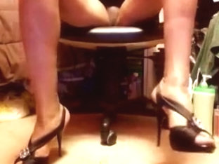 Hot high heels and skirts 2