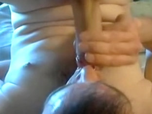 Selfsucking Pierced Uncut Cock... Cum Swallow.....Enjoy!!