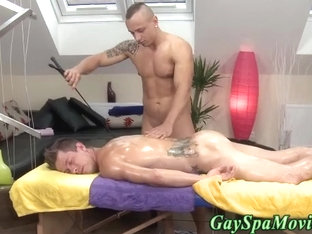 Straighty gets spanked and blown