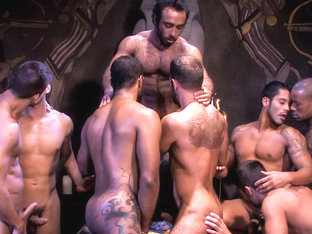 Huessein & Rambo & Justin Christopher & Dominic Pacifico & Steve Cruz in Mirage, Scene #09