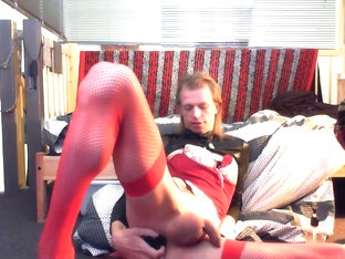 Teasing myself again with my buttplug and fisting