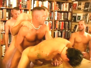 Bookclub Meeting Turns Into Hot Gay Orgy
