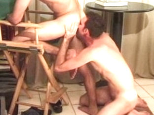Best male pornstar in incredible blowjob, tattoos homosexual xxx video