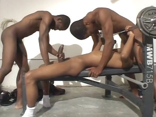 Young Athlete Seduced By Two Hung Studs