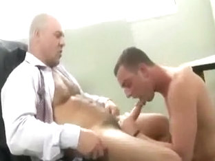 Best male in horny uniform gay porn clip