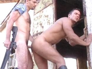 Incredible male pornstars Julio Carillo and Sean Ryback in crazy masturbation, uniform homo xxx mo.