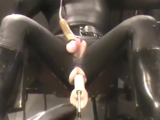 Full rubber, machine screwed and milked