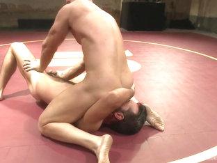 NakedKombat Rich The Wrecking Ball Kelly vs Mitch The Machine Vaughn