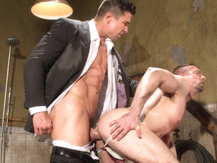 Hole 2 XXX Video: Trenton Ducati & Scott Hunter - FalconStudios