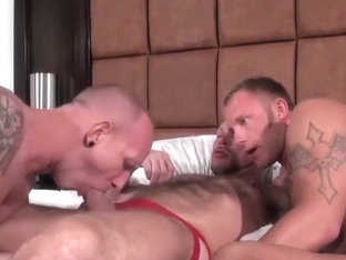 Bareback that hole - Randy Harden, Maboy Garet & P. Johnboy