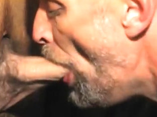 emptying a big hard cock into my throat