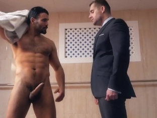 Muscle gay anal sex and cumshot fy