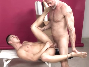 DylanLucas Stepdad Caught Cutie With Cock Out!