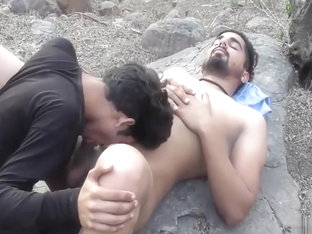 Indian Gay Guys having fun in the forest