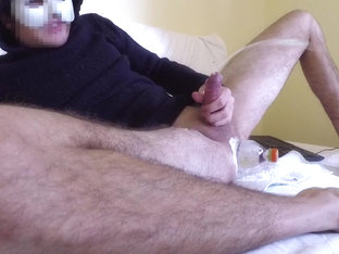 MASSIVE CUMBLAST ORGASM WHILE ANAL RIDING flask
