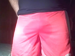 Red Shorts Wetting