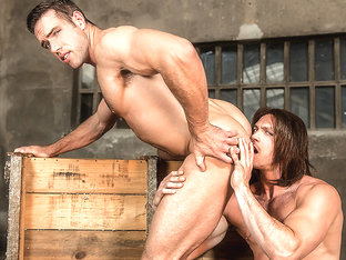Alex Mecum & Paddy O'Brian in Captain America : A Gay XXX Parody Part 3 - SuperGayHero