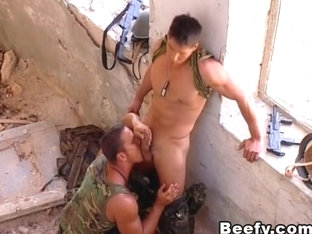 Muscled Butt Fucking With Gay Partner