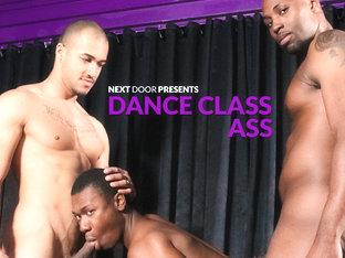 Nubius & Kiern Duecan & Damian Brooks in Dance Class Ass XXX Video