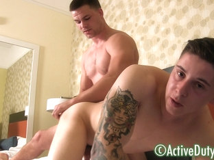 James & Tito Military Porn Video