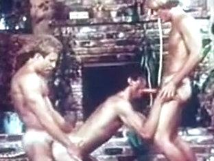 Best male in incredible vintage homosexual porn clip