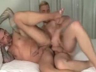 Amazing male in incredible bareback homo porn scene