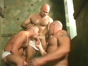 Exotic male in horny hunks, bears homosexual xxx movie