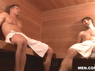 Brenden Cage & Colby Keller in The Sauna Movie