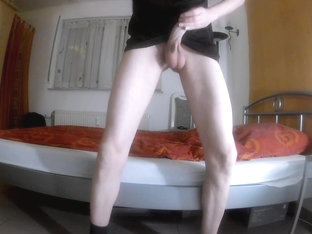 bashing my balls and my cock cbt balls low hangers