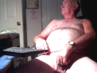 Grandpa stroke on webcam 4