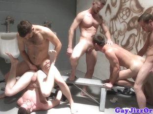 Andrew Stark and friends have an orgy