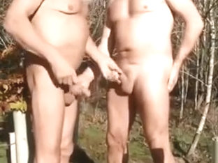 Hottest homemade gay video with Outdoor scenes