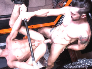Jimmy Durano & Rex Regan in Spot Me, Scene #03 - HotHouse