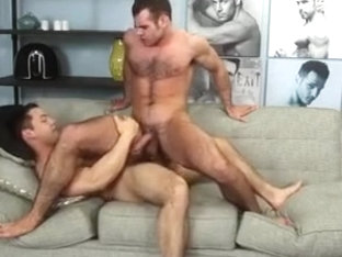 hairy stud getting fucked