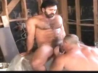 Muscular gay bear hardcore porn