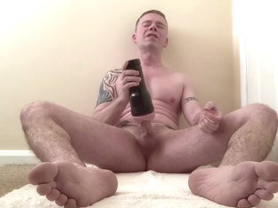 FLESHJACK JERK-OFF CLOSE-UP FEET AND CUM