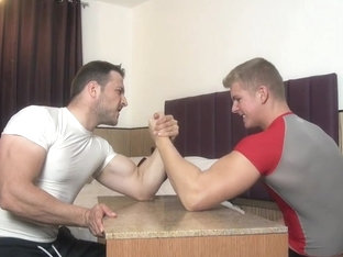 Muscle Gods Armwrestling and Flexing