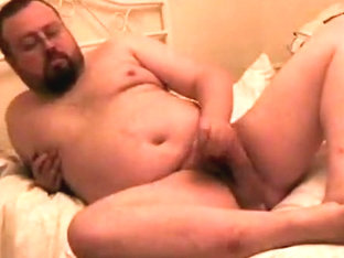 Jack Off on ottoman, full body and face....and cum