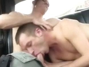 Sex in a taxi in Berlin
