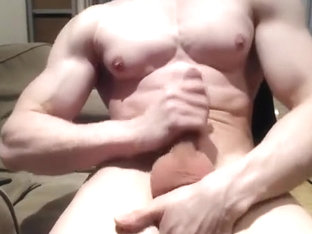 muscle fantasy jerk off spunk fountain (pt.three)