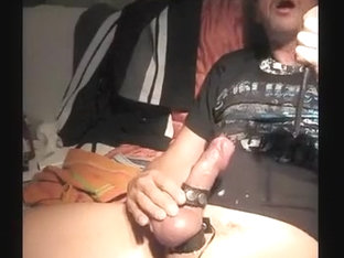 2nd and 3th cumming on a thursday. Sounding and wanking